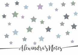 Muted Stars Personalised